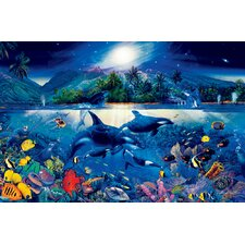 Ideal Decor Majestic Kingdom Wall Mural