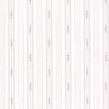 """Dollhouse Belle 33' x 20.5"""" Stripes 3D Embossed Wallpaper"""