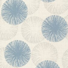 "Naturale Cayman Contemporary Raffia 33' x 20.5"" Abstract 3D Embossed Wallpaper"