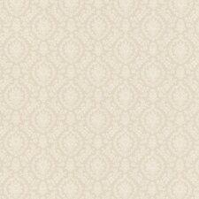"Dollhouse Bella 33' x 20.5"" Geometric 3D Embossed Wallpaper"