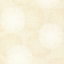 """Naturale Cayman Contemporary Raffia 33' x 20.5"""" Abstract 3D Embossed Wallpaper"""