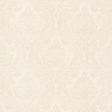 "Juliette Mercutio 33' x 20.5"" Damask 3D Embossed Wallpaper"