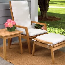 Siena 3 Piece Recliner Armchair with Cushion