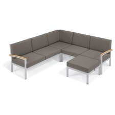 Travira Arm Sectional with Cushion