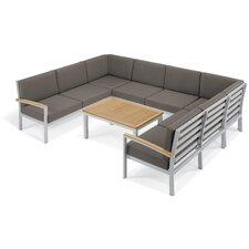 Travira 7 Piece Deep Seating Group with Cushion