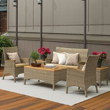 Torbay 5 Piece Deep Seating Group with Cushion