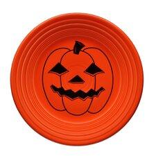 "9"" Halloween Spooky Pumpkin Luncheon Plate"