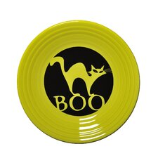 "9"" Halloween Boo Cat Luncheon Plate"