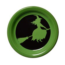 "6.63"" Halloween Witch Appetizer Plate"