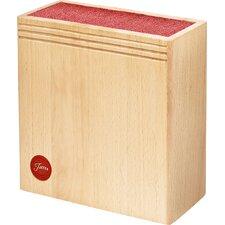 Scarlet Bristle Block