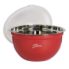 2 Piece Stainless Steel Mixing Bowl Set