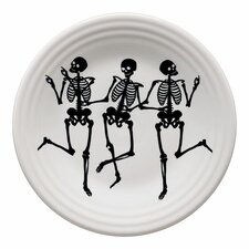 """Trio of Skeleton 9"""" Luncheon Plate"""