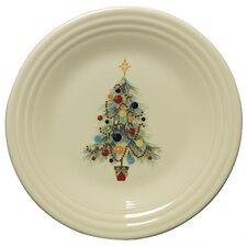 "Christmas 9"" Tree Luncheon Plate"