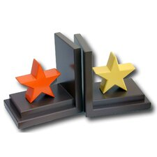Stars Book Ends (Set of 2)