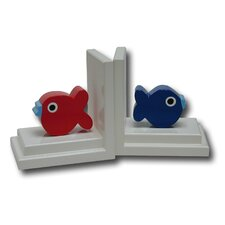 Puffer Fish Book Ends (Set of 2)