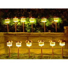 Solar LED Pathway Lighting (Set of 12)