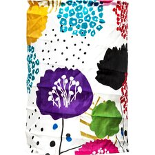 Soji™ Solar Floral Cylinder Hanging Lantern