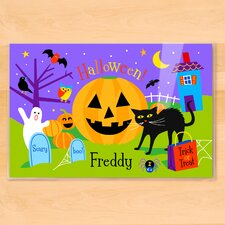 Halloween Pumpkin Personalized Placemat