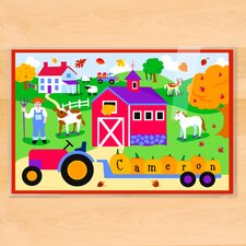 Fall Farm Personalized Placemat