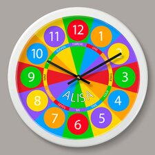 """Numbers Personalized 12"""" Wall Clock"""