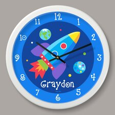 """Out of This World Personalized 12"""" Wall Clock"""