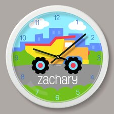 """Truck Personalized 12"""" Wall Clock"""
