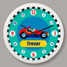 """Vroom Personalized 12"""" Wall Clock"""
