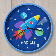 """12"""" Out of This World Personalized Wall Clock"""