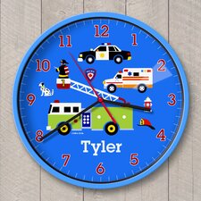 """12"""" Heroes Personalized Wall Clock"""