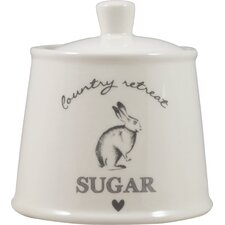 Country Retreat Sugar Bowl with Lid