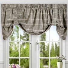 Morrison Plaid Cotton Tie-Up Curtain Valance
