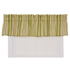 Kensington Cotton Blend Rod Pocket Tailored Curtain Valance