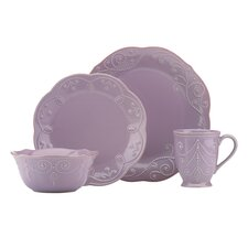 French Perle 4 Piece Place Setting