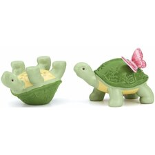 Butterfly Meadow Turtle Salt and Pepper Set