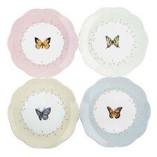 """Butterfly Meadow 8"""" Dessert Plate (Set of 4)"""