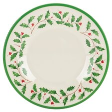 "Holiday Melamine 8"" Plate (Set of 4)"