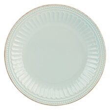 """French Perle Groove 9"""" Salad Plate"""