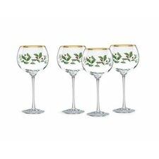 Holiday Balloon 16 oz. Wine Glass (Set of 4)