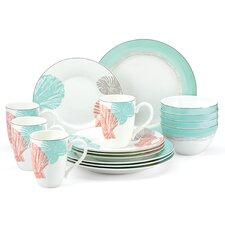 Sandy Point 16 Piece Dinnerware Set
