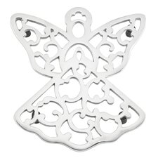 Warmest Wishes Metal Angel Trivet