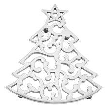 Warmest Wishes Metal Tree Trivet