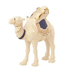 First Blessing Nativity Standing Camel Figurine in Navy