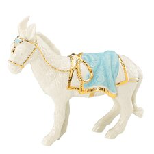 First Blessing Nativity Donkey Figurine