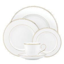 Federal Gold 5 Piece Place Setting