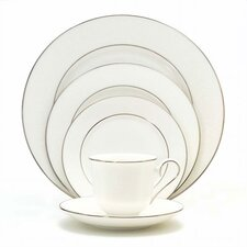 Hannah Platinum 5 Piece Place Setting