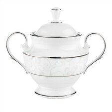 Venetian Lace Sugar Bowl with Lid
