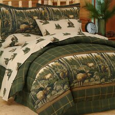 Rocky Mountain Elk Comforter Set