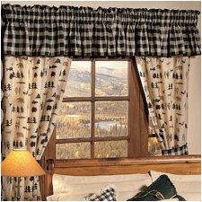 Northern Exposure Cotton Blend Curtain Valance