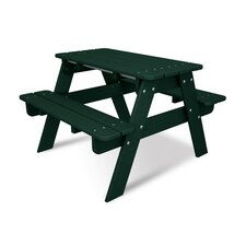 Kids Rectangular Picnic Table