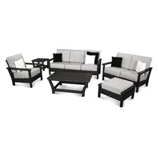 Harbour 6 Piece Deep Seating Group with Cushion
